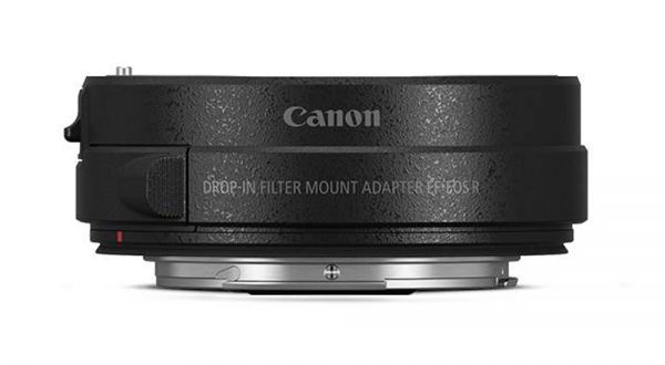 Canon EF-EOS R Adapter mit V-ND Filter