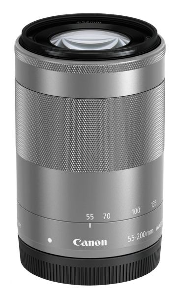 Canon EF-M 55-200/4,5-6,3 IS STM silber