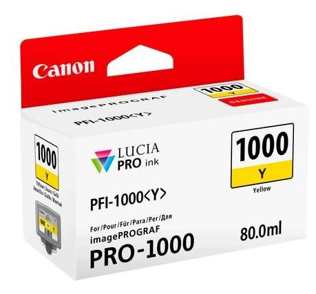 Canon PFI-1000 Yellow 80ml