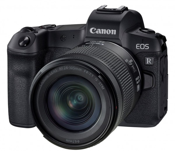Canon EOS R & RF 24-105 IS STM