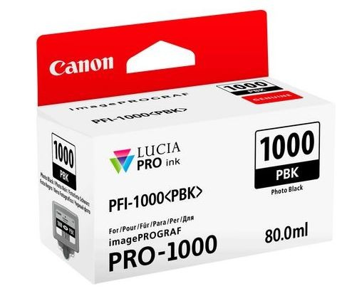 Canon PFI-1000 Photo black 80ml