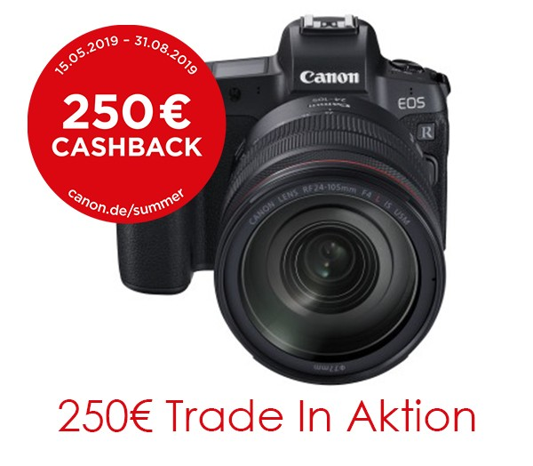 Canon EOS R & RF 24-105 & Adapter