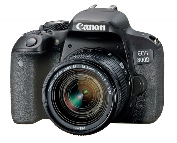Canon EOS 800D & EF-S 18-55 IS STM