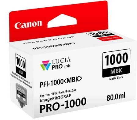 Canon PFI-1000 Matte black 80ml
